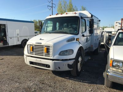 2009 Freightliner M2 106 Extended-Cab Enclosed Utility Truck