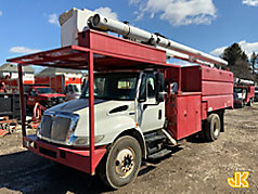 Used Forestry Bucket Trucks - Chippers   JJ Kane Auctioneers