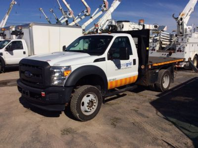2015 Ford F550 Flatbed