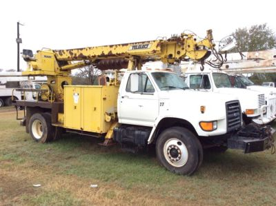 Philadelphia Auto Auction >> Telelect Commander 4500 Digger Derrick On 1995 Ford F800 ...