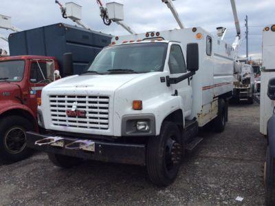 2006 Gmc C6500 Chipper Dump Truck 82891 J J Kane
