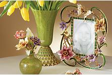 Jay Strongwater Jewels For The Home Hand Enameled Gifts