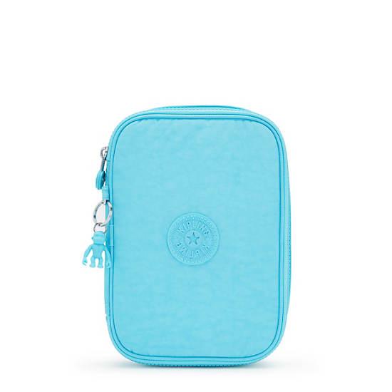 100 Pens Case, Blue Splash, large