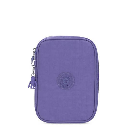 100 Pens Case,Eggplant Purple,large