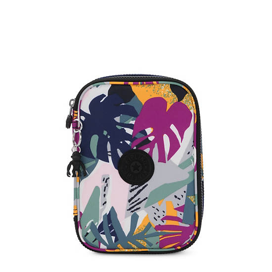 100 Pens Printed Case,Active Jungle,large