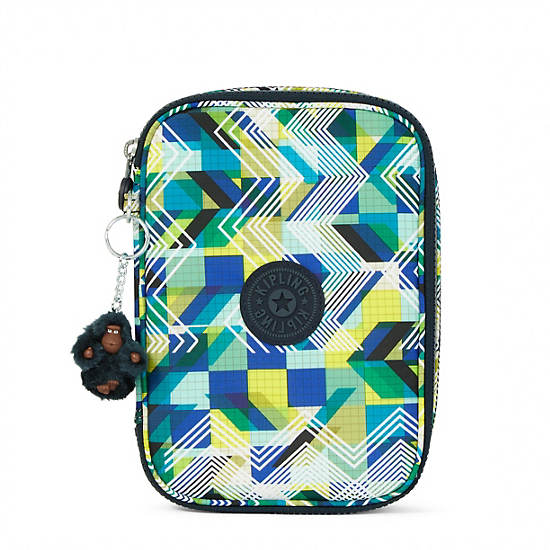 100 Pens Printed Case,Sonic Lines,large