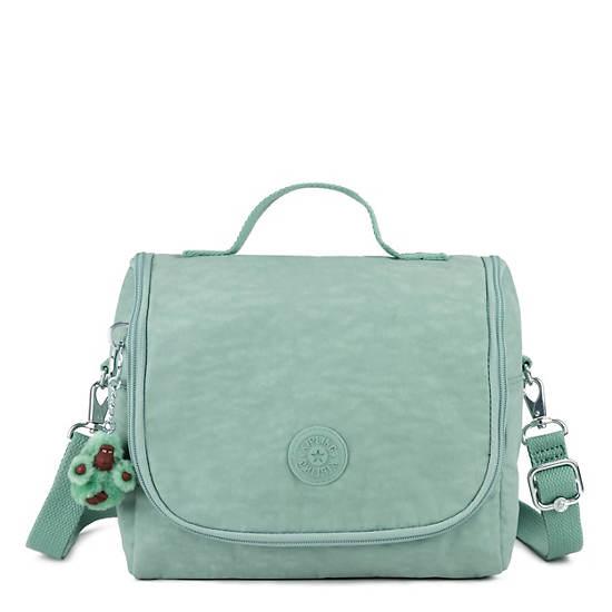 Kichirou Lunch Bag,Fern Green Tonal Zipper,large