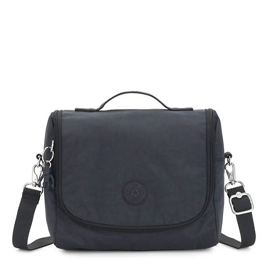 Kichirou Lunch Bag, Blue Bleu 2, large