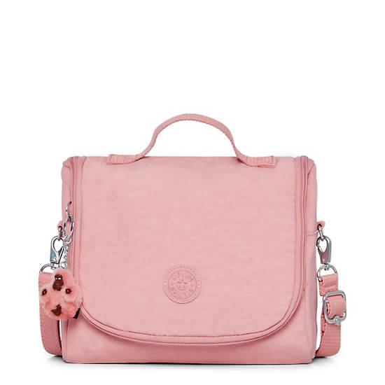 Kichirou Lunch Bag,Strawberry Pink Tonal Zipper,large