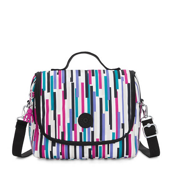 Kichirou Printed Lunch Bag,Urban Stripe,large