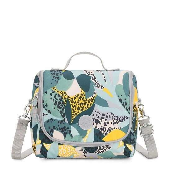 Kichirou Printed Lunch Bag,Urban Jungle,large