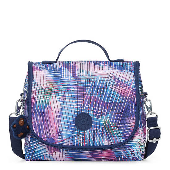 Kichirou Printed Lunch Bag,Radiant Splash,large
