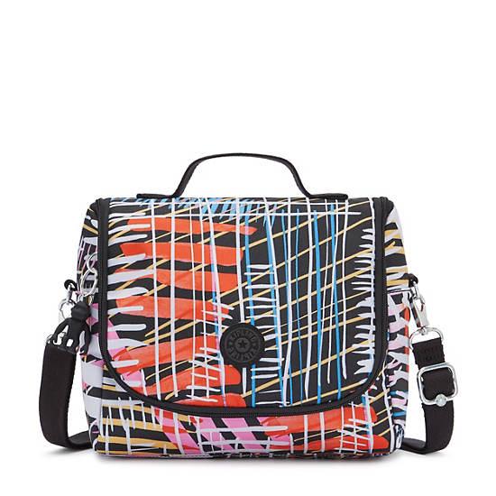 Kichirou Printed Lunch Bag, Soft Stripes, large
