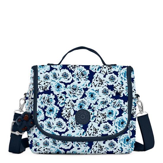 Kichirou Printed Lunch Bag,Roaming Roses,large