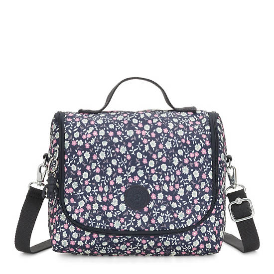 Kichirou Printed Lunch Bag,Floral Rush,large