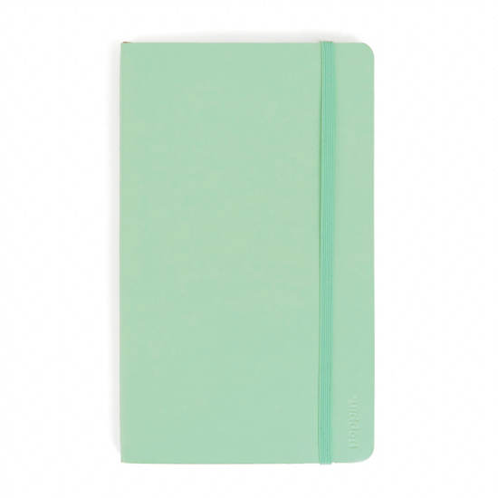 Poppin Medium Soft Paper Cover Notebook,Mint Green,large