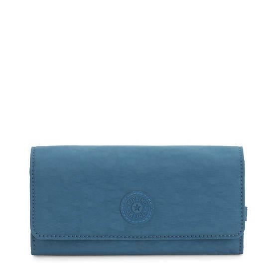 New Teddi Snap Wallet,Mystic Blue,large