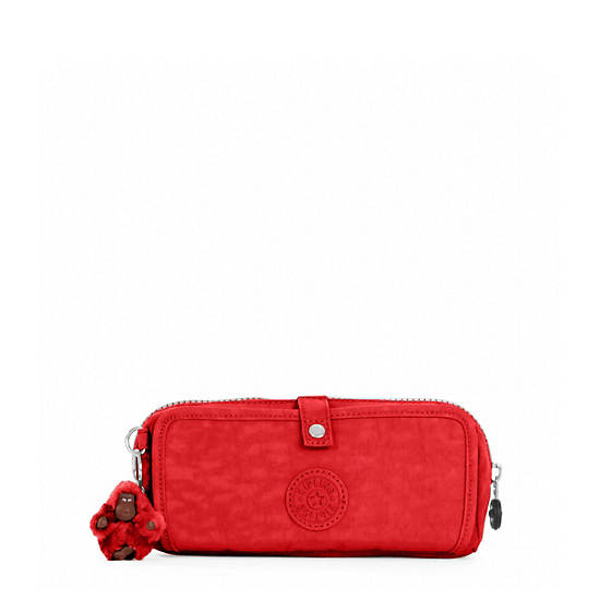 Wolfe Pencil Pouch,Cherry,large