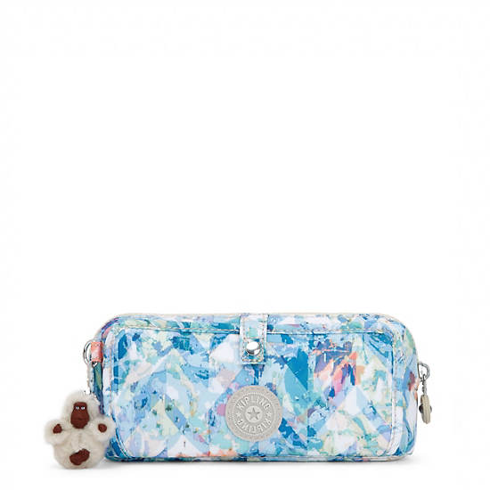 Wolfe Printed Pencil Pouch,Boogie Beach,large