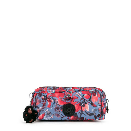Wolfe Printed Pencil Pouch,Festive Floral,large