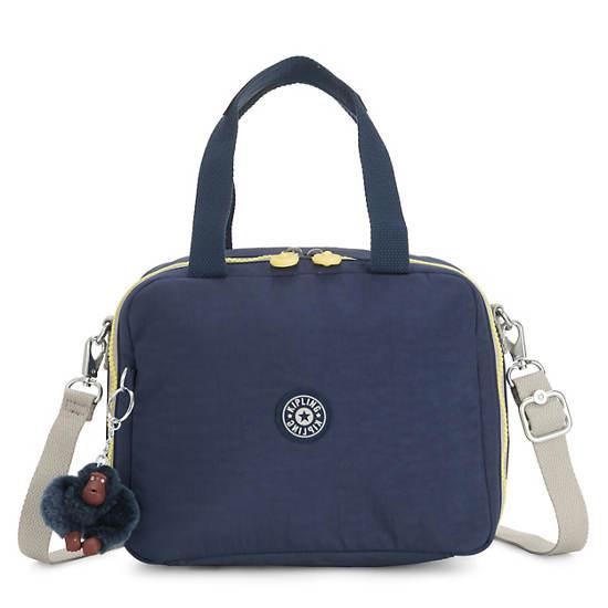 Miyo Lunch Bag,Blue Thunder,large