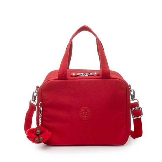 Miyo Lunch Bag,Cherry Tonal Zipper,large