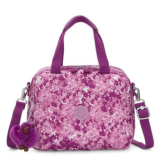 Miyo Printed Lunch Bag,Floral Pop,large