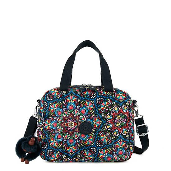 Miyo Printed Lunch Bag,Sunshine burst,large