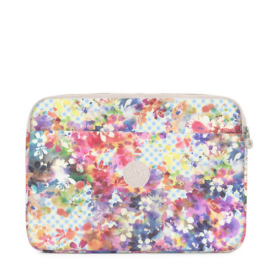 "15"" Printed Laptop Sleeve,Garden Happy,large"