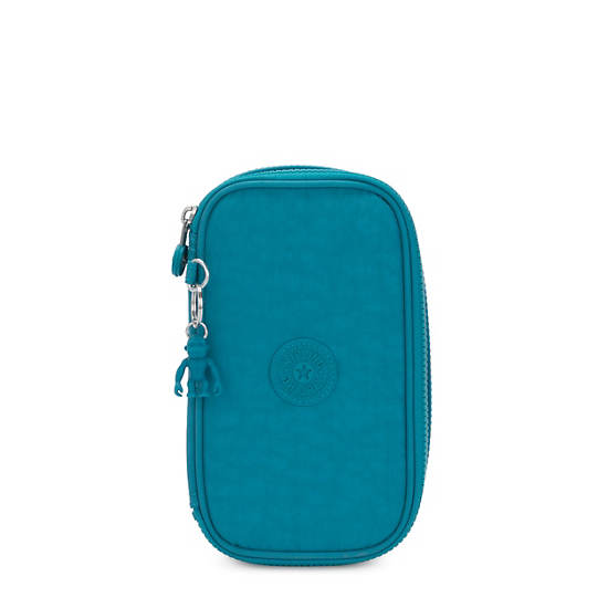 50 Pens Case,Turquoise Sea,large