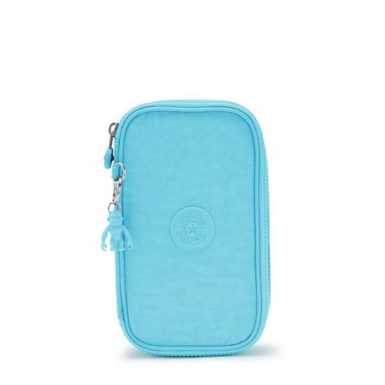 50 Pens Case, Blue Splash, large
