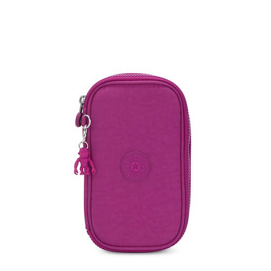 50 Pens Case,Bright Pink,large