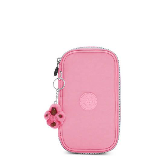 50 Pens Case,Pink Macaroons,large