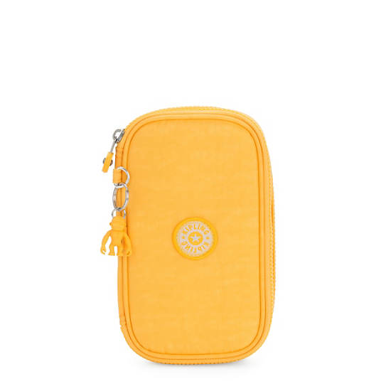 50 Pens Case,Vivid Yellow,large
