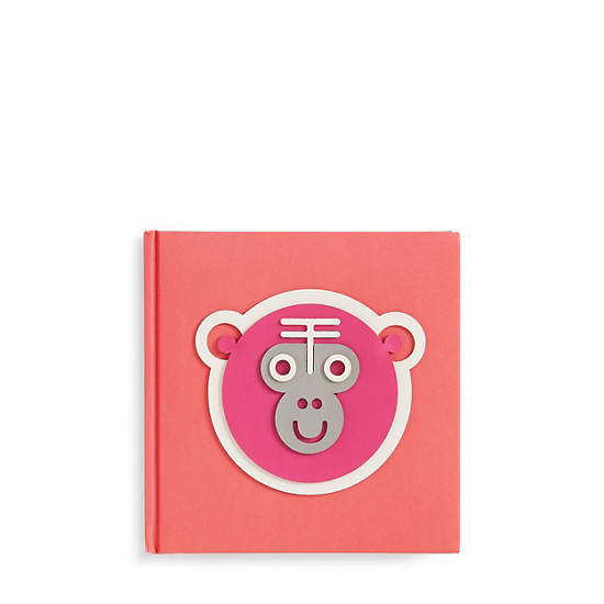 Monkey Notebook,Red Rust,large