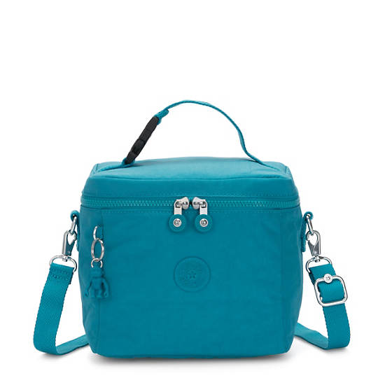 Graham Lunch Bag,Turquoise Sea,large