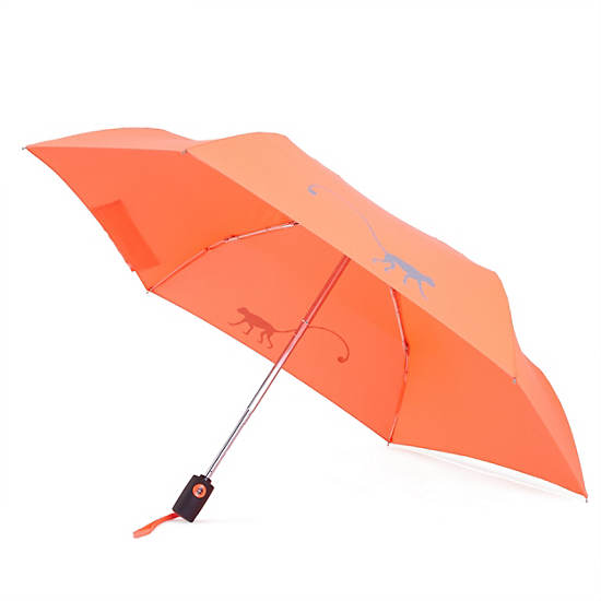 Auto Open Umbrella,Nectarine Orange,large
