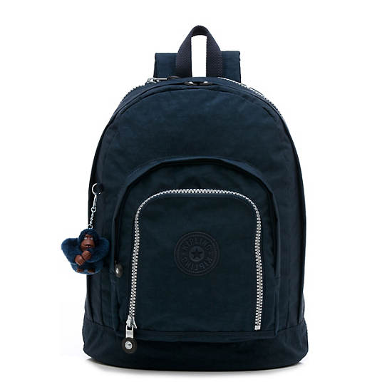 Hal Large Expandable Backpack,True Blue,large