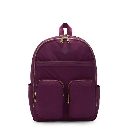"""Tina Large 15"""" Laptop Backpack,Deep Plum,large"""