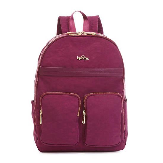 """Tina Large 15"""" Laptop Backpack,Deep Plum Combo,large"""