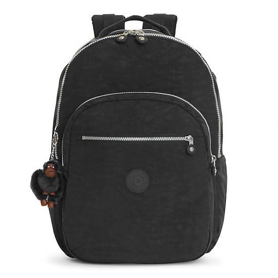 Seoul Extra Large Laptop Backpack,Black,large