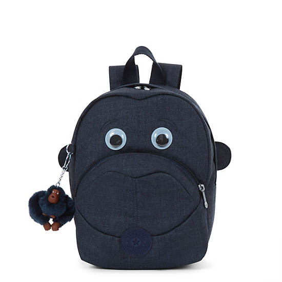 Fast Small Kids Backpack Jeans True Blue Large