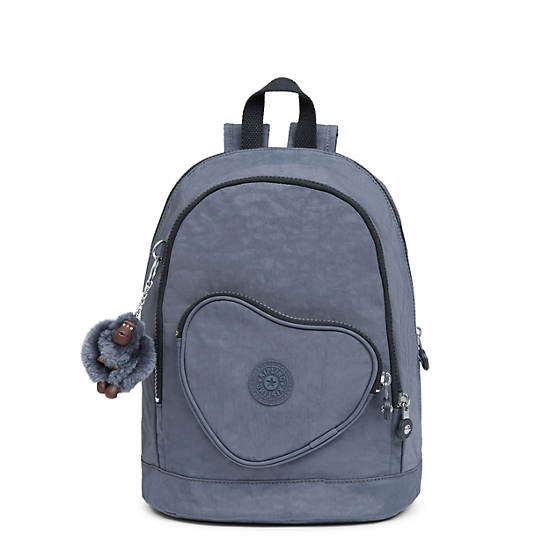Heart Small Kids Backpack,True Jeans,large