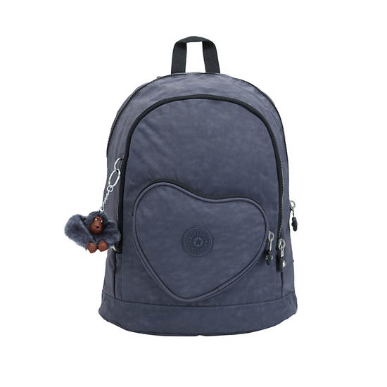 Heart Printed Kids Backpack,True Jeans,large