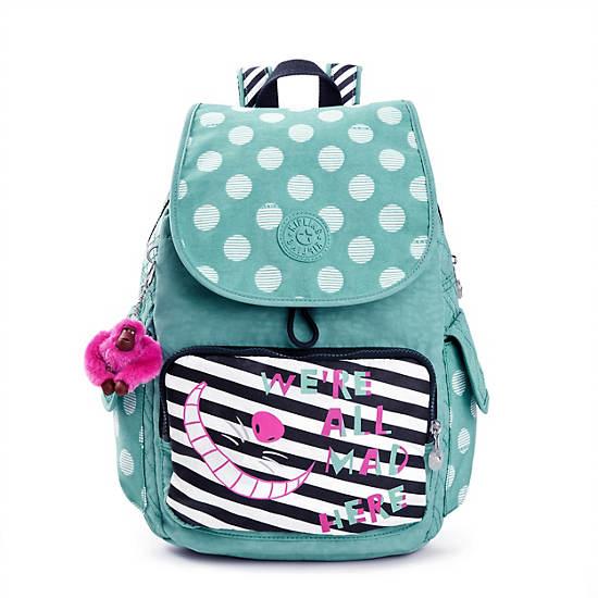 Disneys Alice in Wonderland City Pack Printed Backpack Kipling