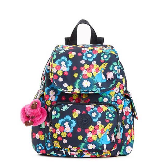 Disneys Alice In Wonderland City Pack Extra Small Printed BackpackTea Roselarge