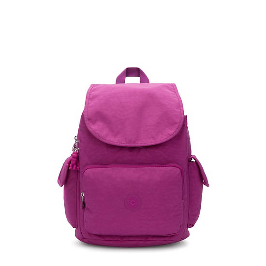City Pack Medium Backpack,Bright Pink,large