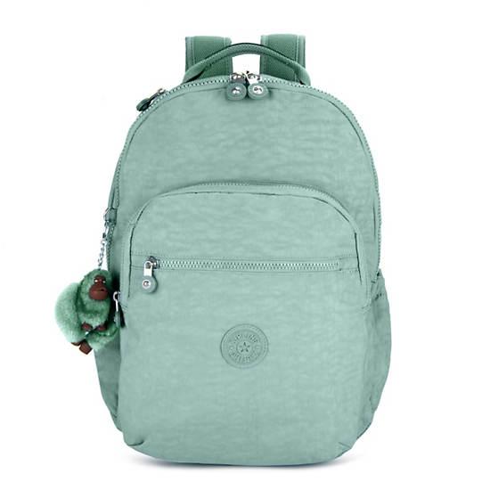 "Seoul Go Large 15"" Laptop Backpack,Fern Green Tonal Zipper,large"