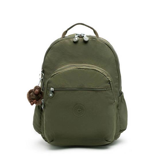 "Seoul Go Extra Large 17"" Laptop Backpack,Jaded Green Tonal Zipper,large"