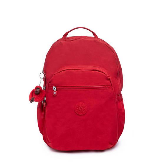 Seoul Go Extra Large Laptop Backpack,Cherry Tonal Zipper,large